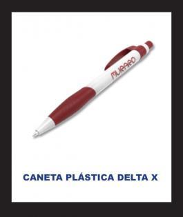 CANETA PLÁSTICA DELTA X Plástico 4/0  Personalizado