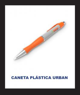 CANETA PLÁSTICA URBAN Plástico 4/0  Personalizado
