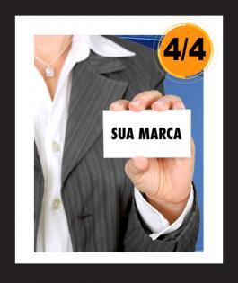CARTÃO DE VISITA Papel Cartão 300gr 4/4 Laminação Fosca F/V e Verniz Localizado Frente Refile 1000unds