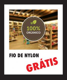 MÓBILES | 100 unds PVC 0,3mm 4/4 Sem Verniz Corte Redondo - Carretel Fio de Nylon - Corte e Vinco Padrão